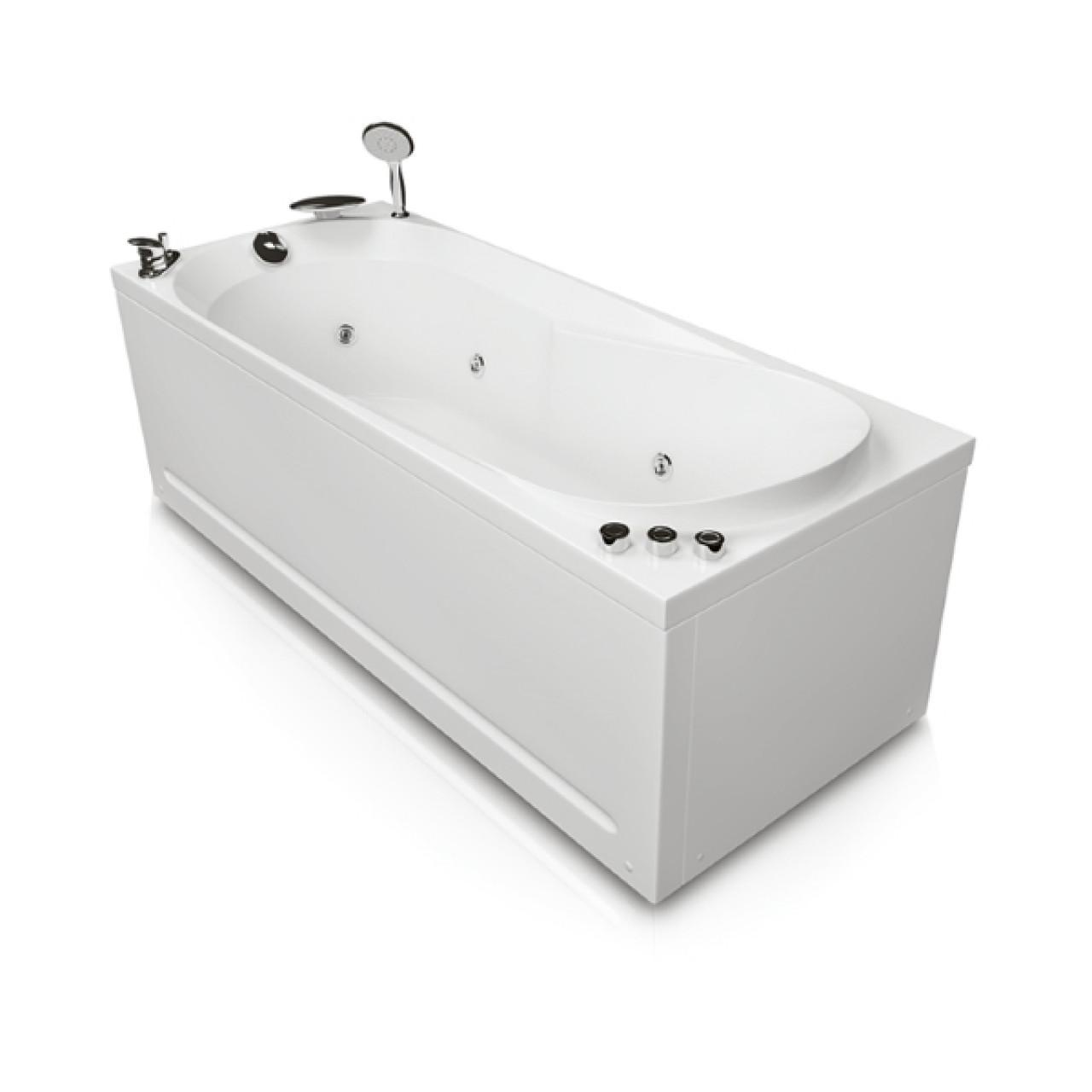 Акриловая ванна Акватика Астра Basic 170х70х56 купить в Москве по цене от 37790р. в интернет-магазине mebel-v-vannu.ru