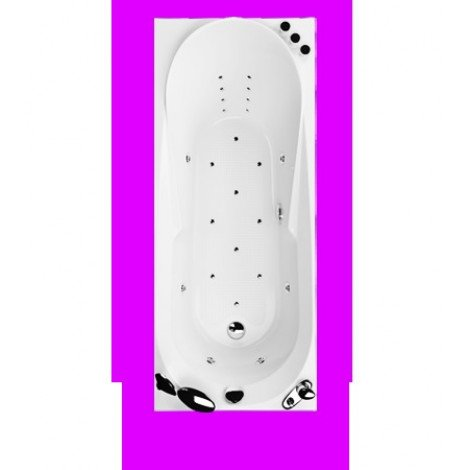 Акриловая ванна Акватика Астра Reflexa 170х70х56 купить в Москве по цене от 103125р. в интернет-магазине mebel-v-vannu.ru