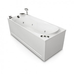 Акриловая ванна Акватика Астра Basic 170х70х56