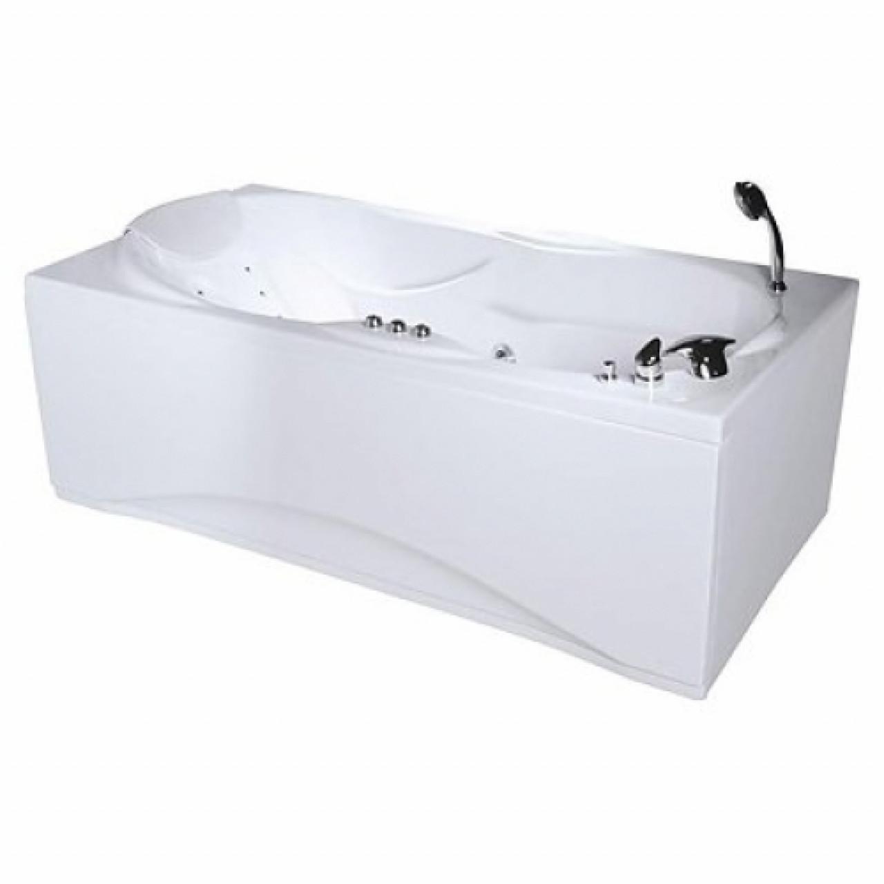 Акриловая ванна Акватика Атлантис Reflexa 180x90х63 купить в Москве по цене от 120977р. в интернет-магазине mebel-v-vannu.ru