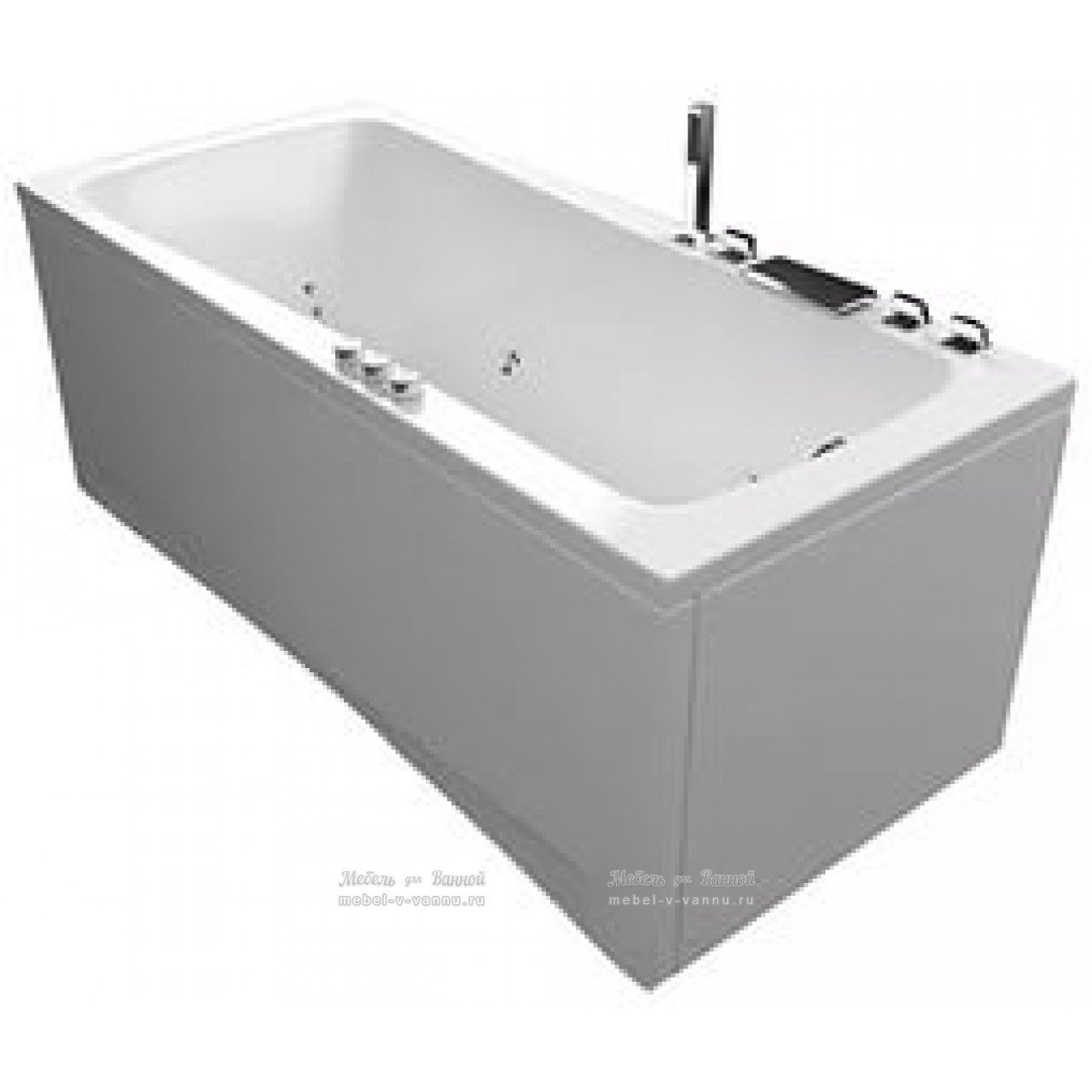 Акриловая ванна Акватика Авентура Basic 150х70х67 купить в Москве по цене от 46187р. в интернет-магазине mebel-v-vannu.ru