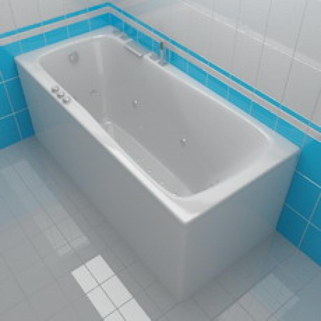 Акриловая ванна Акватика Авентура Basic 170х75х67 купить в Москве по цене от 47494р. в интернет-магазине mebel-v-vannu.ru