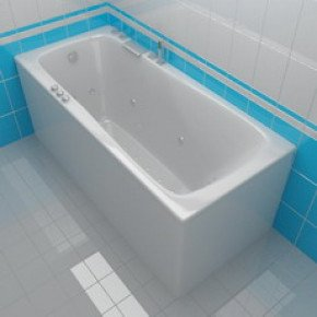 Акриловая ванна Акватика Авентура Basic 170х75х67