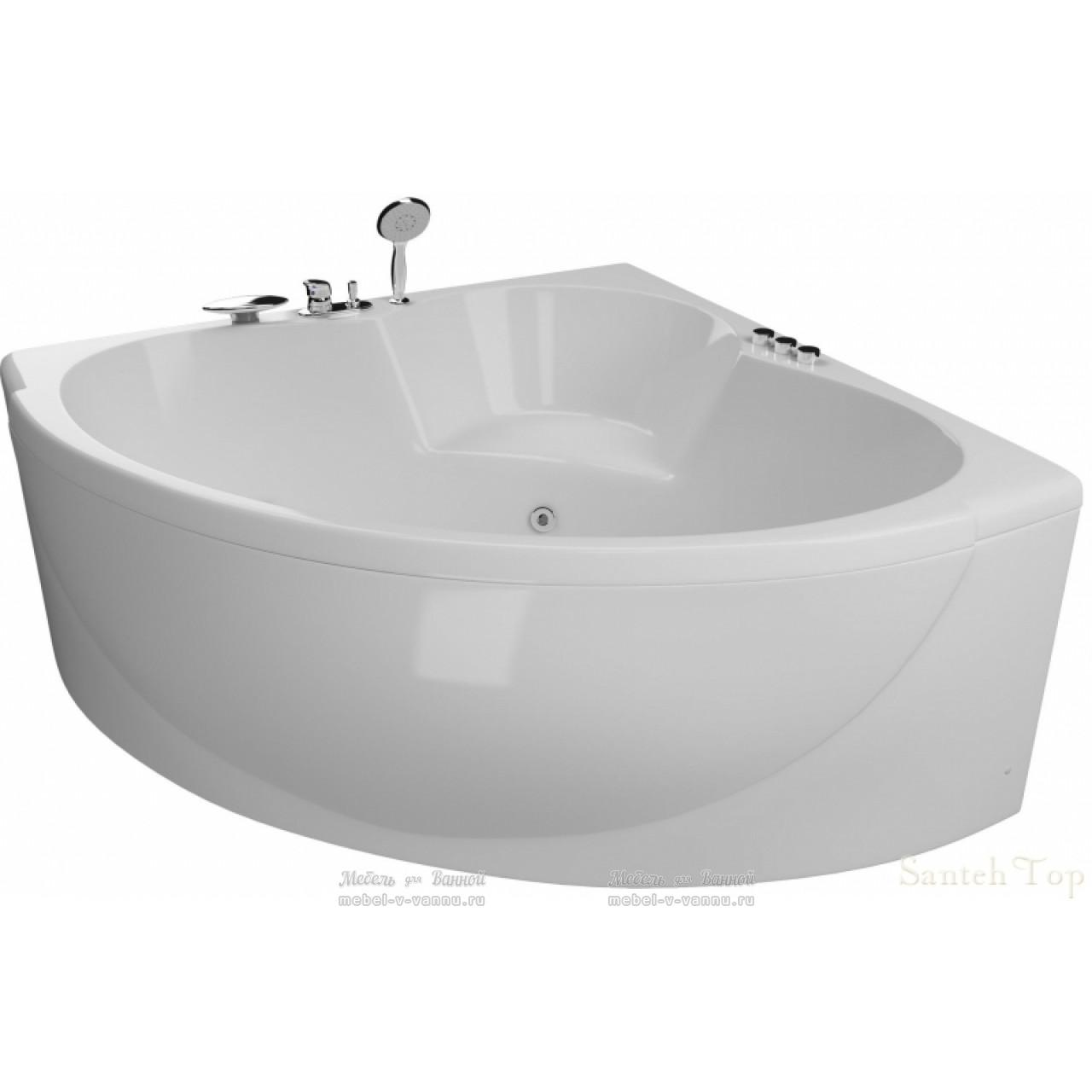 Акриловая ванна Акватика Эпюра Reflexa 140x140x56 купить в Москве по цене от 114290р. в интернет-магазине mebel-v-vannu.ru
