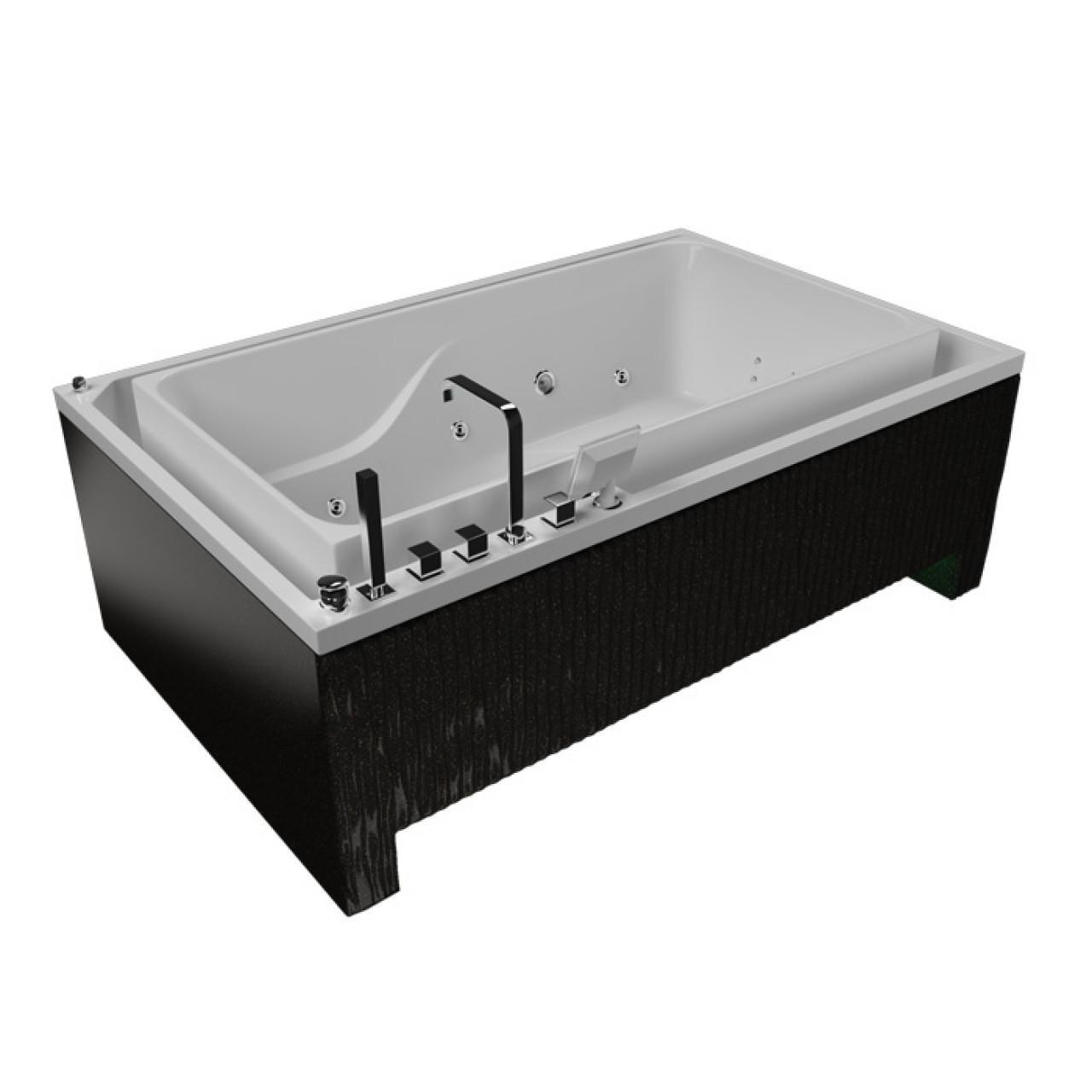 Акриловая ванна Акватика Гидра Basic 190x120х67 купить в Москве по цене от 258000р. в интернет-магазине mebel-v-vannu.ru