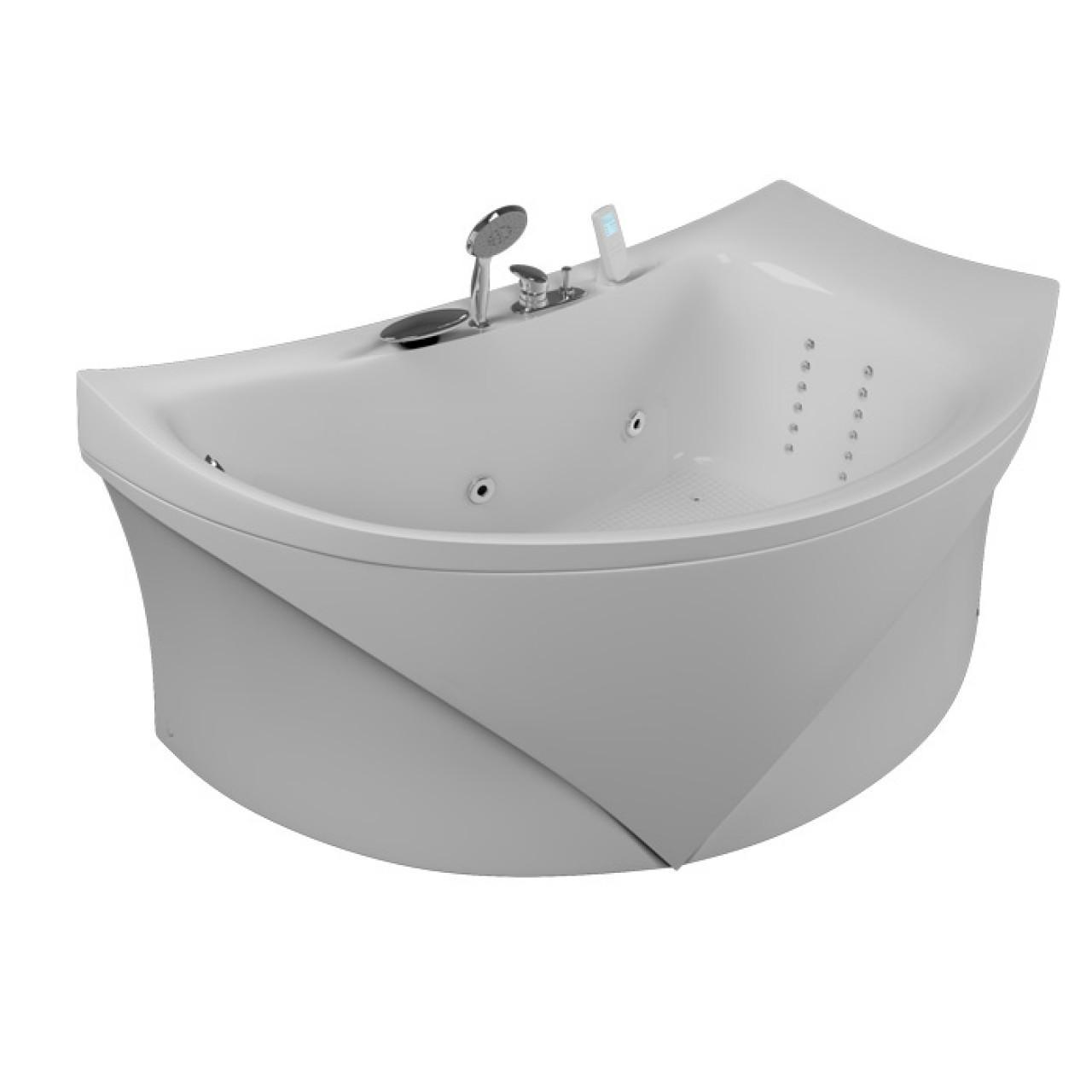 Акриловая ванна Акватика Готика Basic 150x90x65 купить в Москве по цене от 47460р. в интернет-магазине mebel-v-vannu.ru