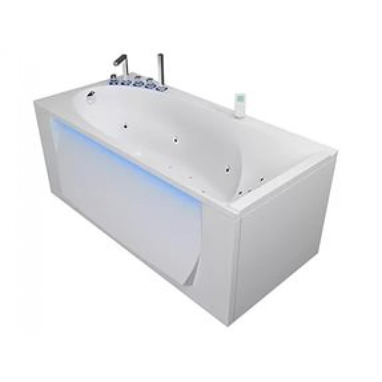 Акриловая ванна Акватика Кинетика Basic 170x80х61 купить в Москве по цене от 51455р. в интернет-магазине mebel-v-vannu.ru