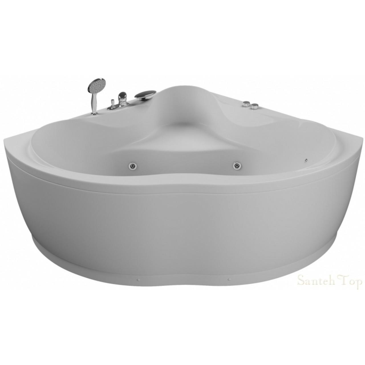 Акриловая ванна Акватика Кворум Basic 143x143x65 купить в Москве по цене от 45650р. в интернет-магазине mebel-v-vannu.ru