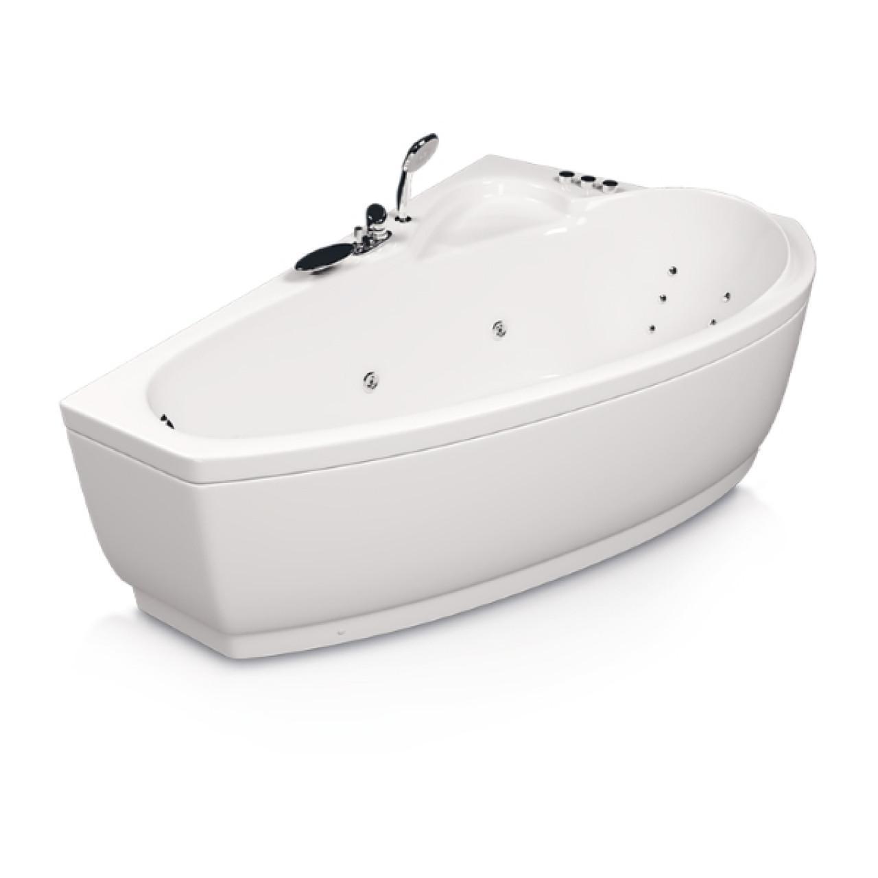 Акриловая ванна Акватика Логика Reflexa 160x105x61 купить в Москве по цене от 106478р. в интернет-магазине mebel-v-vannu.ru