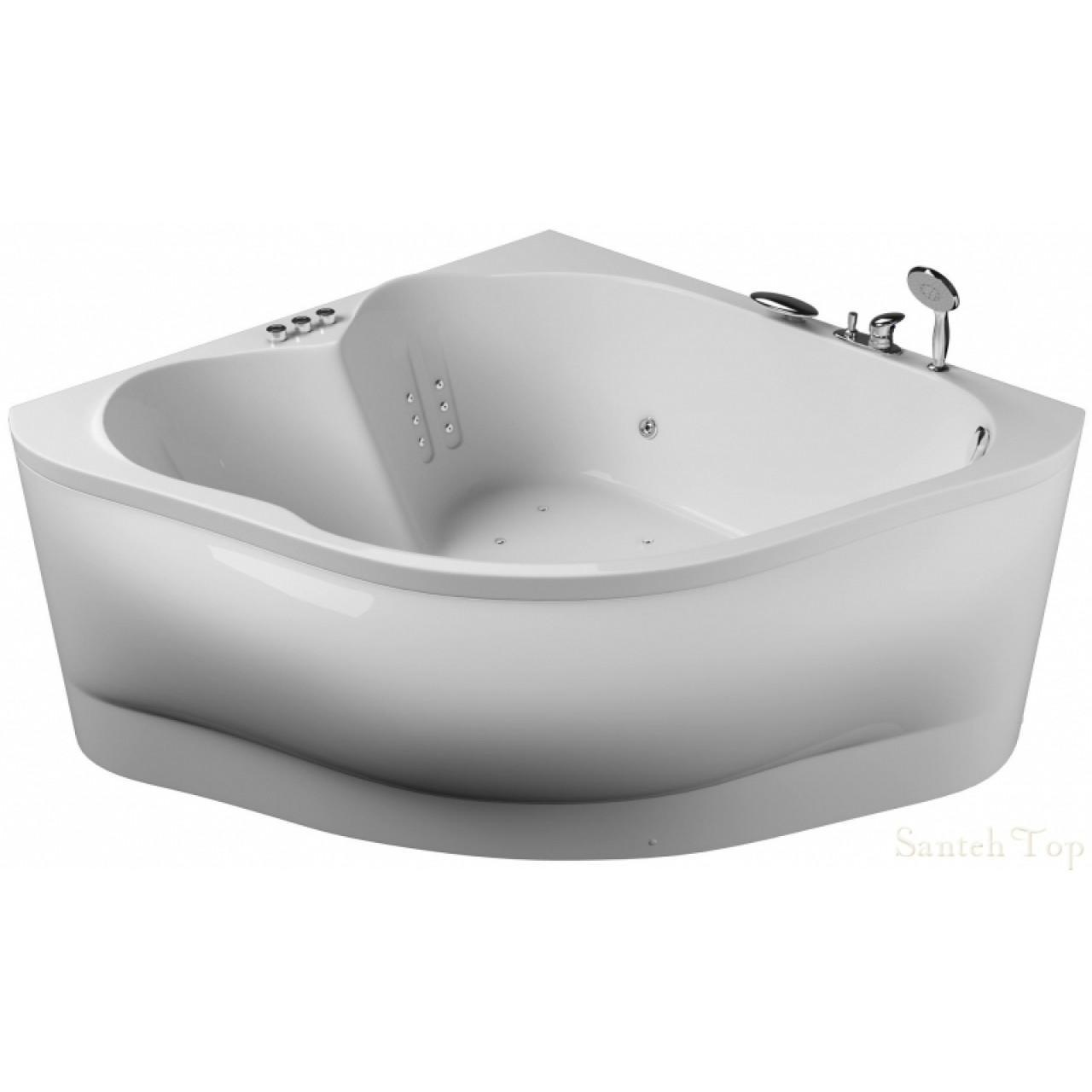 Акриловая ванна Акватика Матрица Standart 155x155x73 купить в Москве по цене от 36620р. в интернет-магазине mebel-v-vannu.ru
