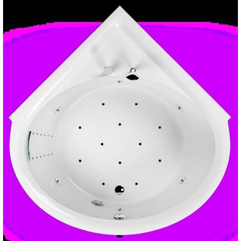 Акриловая ванна Акватика Опера Reflexa 130/168x130/168x66 купить в Москве по цене от 141240р. в интернет-магазине mebel-v-vannu.ru
