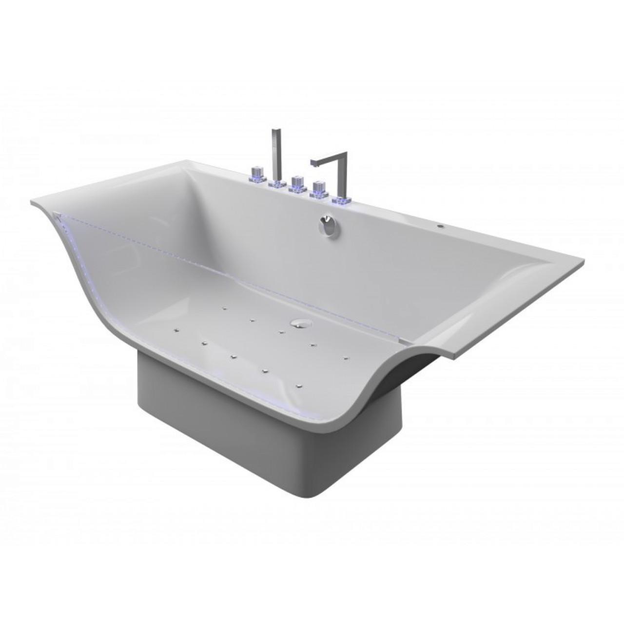 Акриловая ванна Акватика Плазма Basic190x80х70 купить в Москве по цене от 299000р. в интернет-магазине mebel-v-vannu.ru