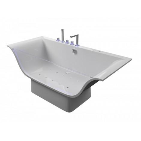 Акриловая ванна Акватика Плазма Standart 190x80х70 купить в Москве по цене от 251000р. в интернет-магазине mebel-v-vannu.ru