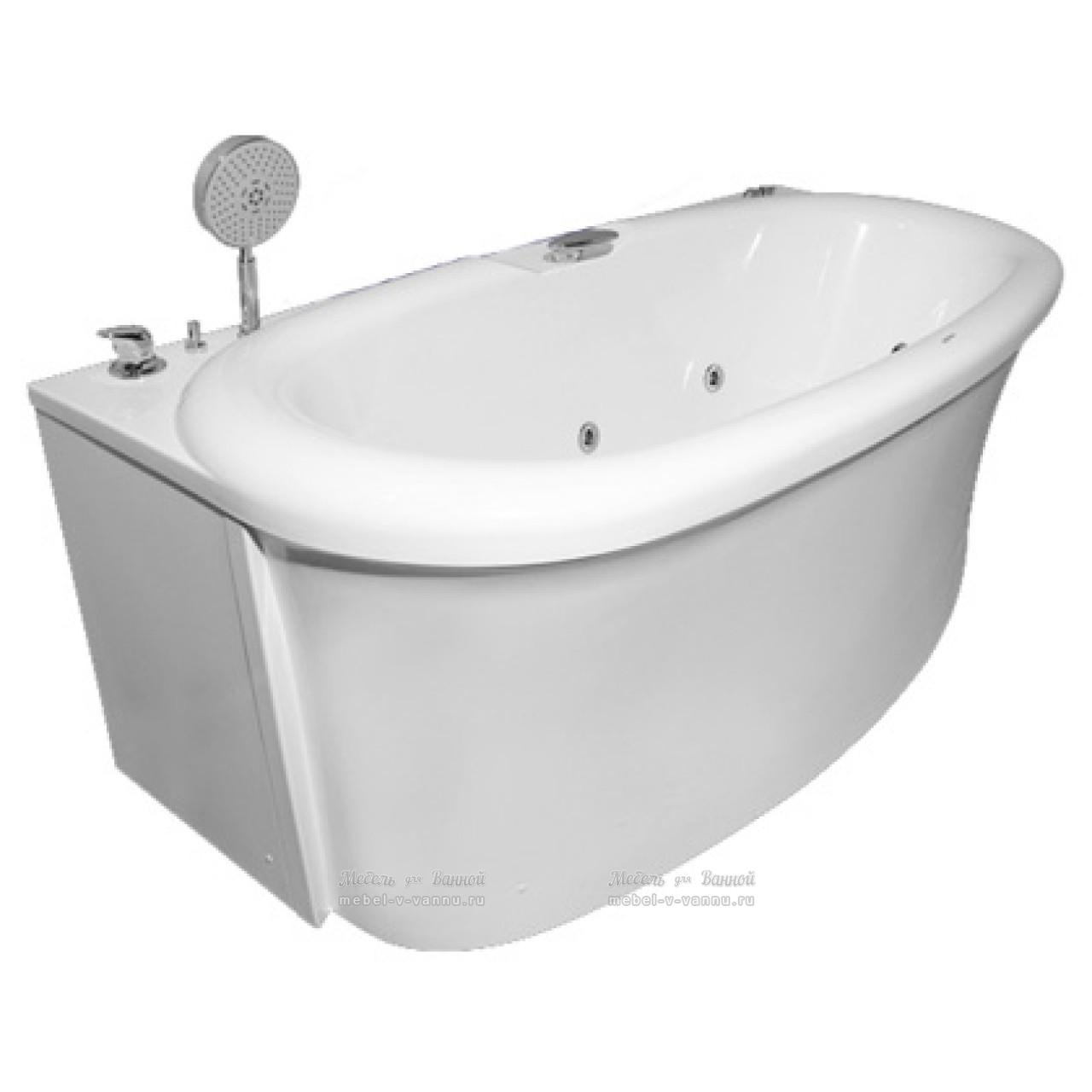 Акриловая ванна Акватика Скульптура Basic190x90x68 купить в Москве по цене от 58390р. в интернет-магазине mebel-v-vannu.ru