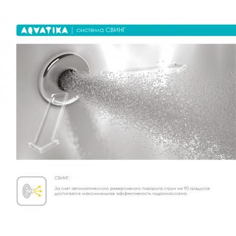 Акриловая ванна Акватика Минима Reflexa 180x80х65 купить в Москве по цене от 122566р. в интернет-магазине mebel-v-vannu.ru