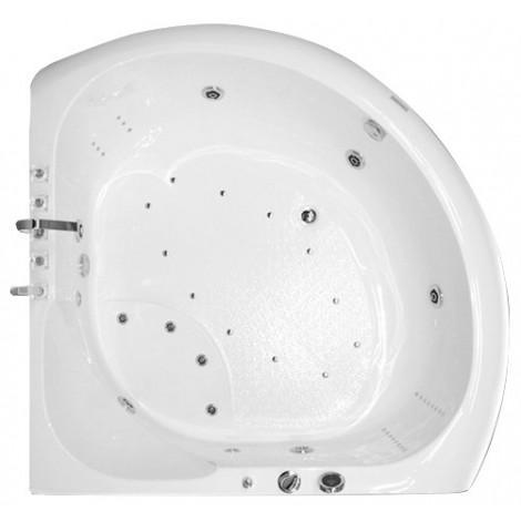 Акриловая ванна Акватика Тема Reflexa 140x140x65 купить в Москве по цене от 125247р. в интернет-магазине mebel-v-vannu.ru