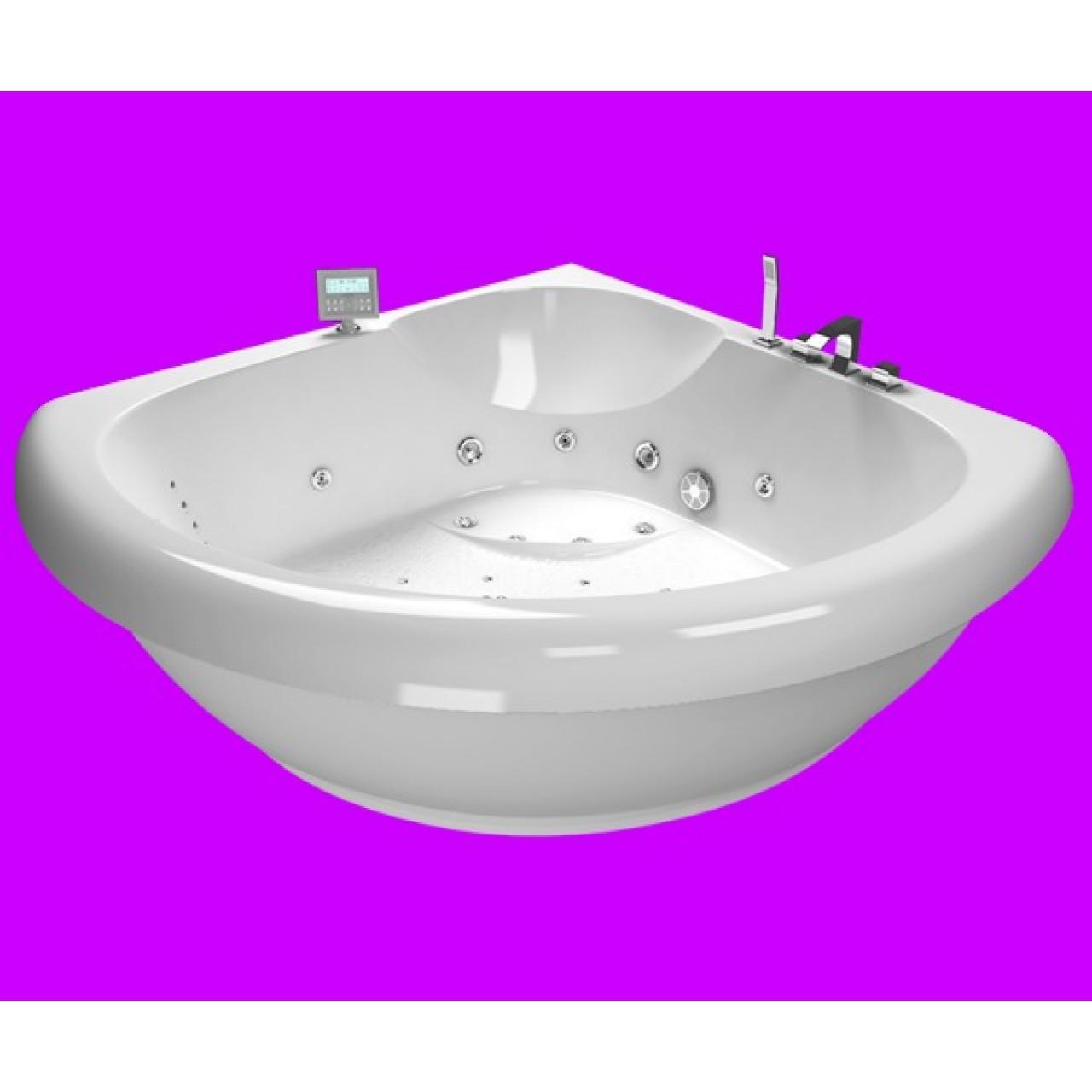 Акриловая ванна Акватика Тема 3D 150x150x66 купить в Москве по цене от 203752р. в интернет-магазине mebel-v-vannu.ru