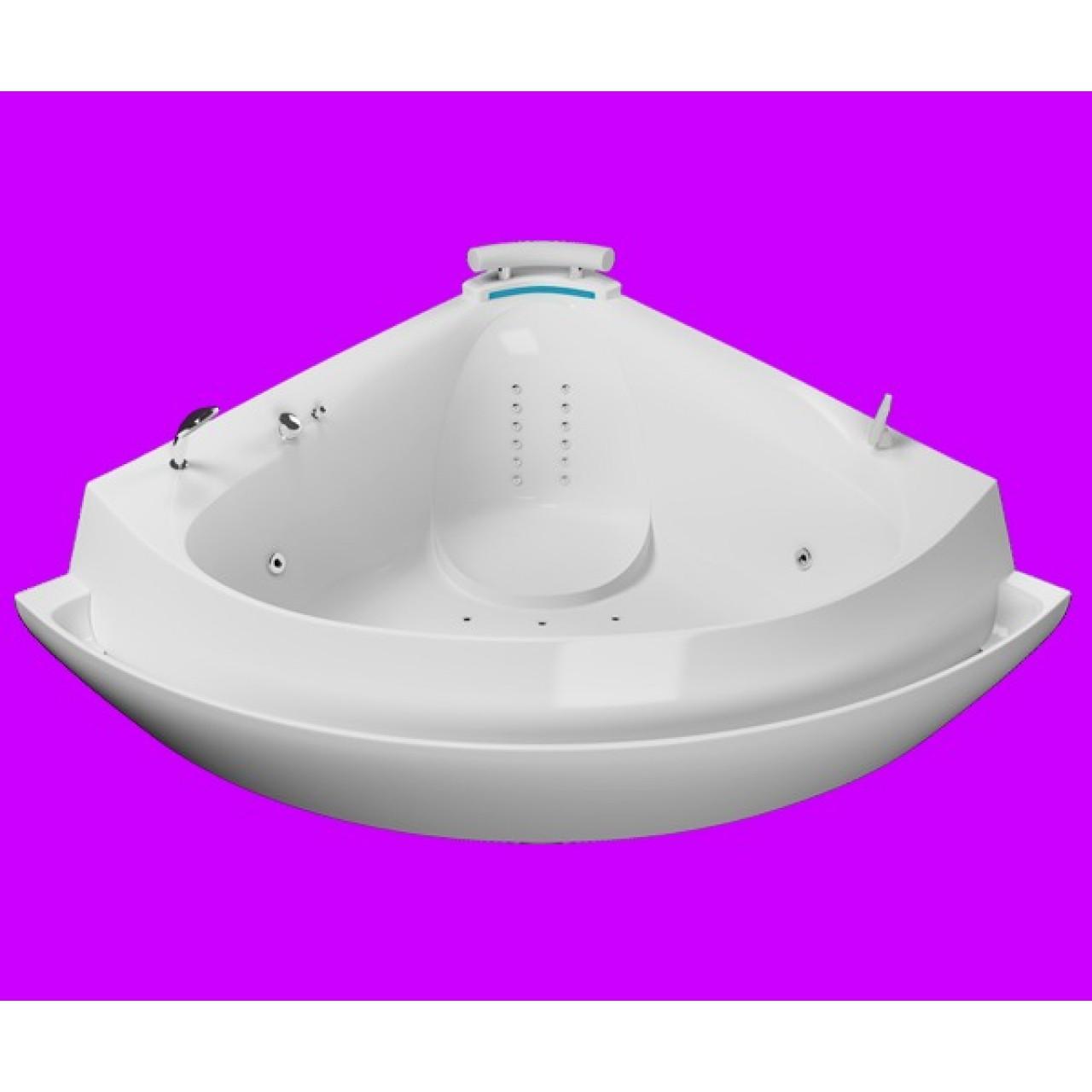 Акриловая ванна Акватика Ультра Reflexa 173x173x79 купить в Москве по цене от 199000р. в интернет-магазине mebel-v-vannu.ru