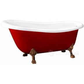 Акриловая ванна BelBagno BB04-ROS