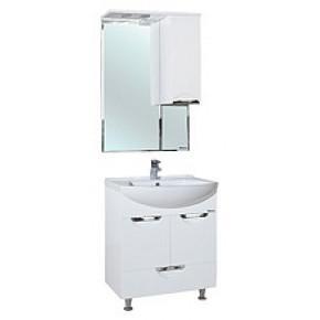 Комплект мебели Bellezza Альфа 55 белая с нижним ящиком