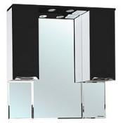 Зеркало-шкаф Bellezza Альфа 90 (черный, красный, бежевый) купить в Москве по цене от 9087р. в интернет-магазине mebel-v-vannu.ru