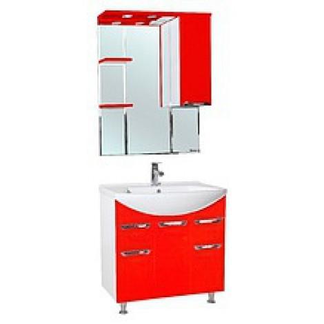 Комплект мебели Bellezza Альфа 75 (черный, бежевый, красный) купить в Москве по цене от 15027р. в интернет-магазине mebel-v-vannu.ru