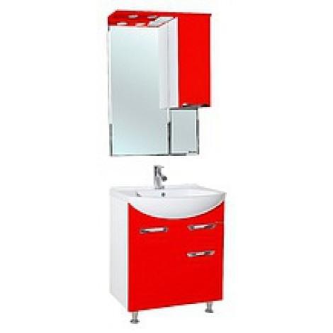 Комплект мебели Bellezza Альфа 65 (черный, красный, бежевый) с ящиком купить в Москве по цене от 12172р. в интернет-магазине mebel-v-vannu.ru