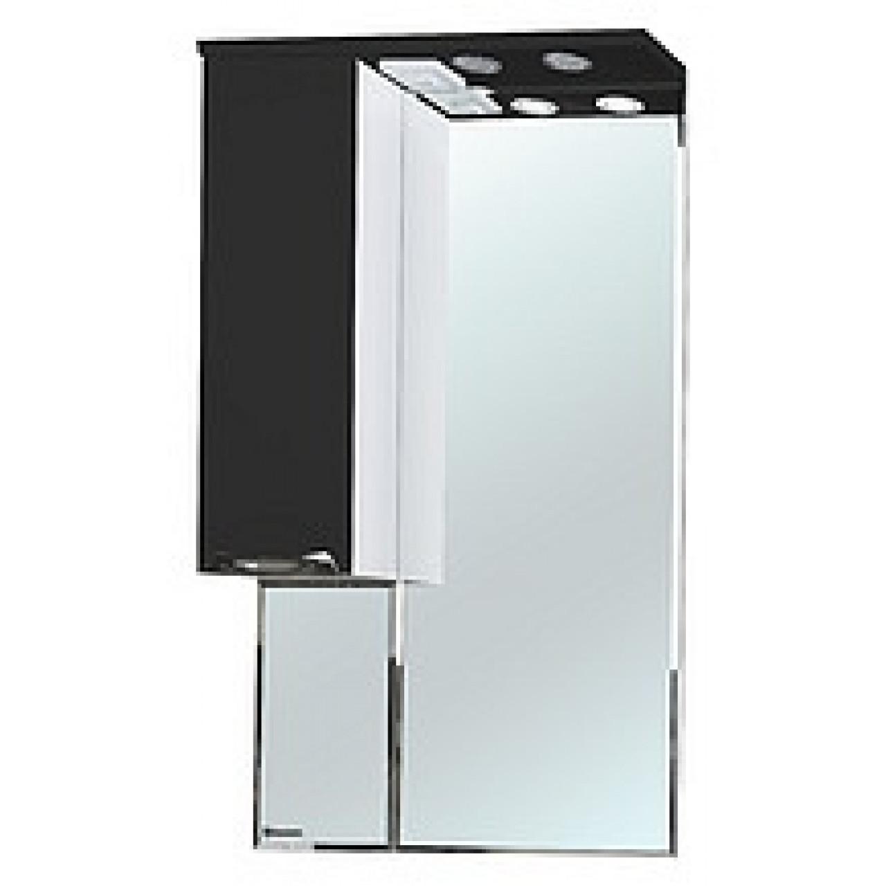 Зеркало-шкаф Bellezza Альфа 65 (черный, красный, бежевый) купить в Москве по цене от 5228р. в интернет-магазине mebel-v-vannu.ru