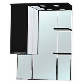 Зеркало-шкаф Bellezza Альфа 75 (черный, красный, бежевый)