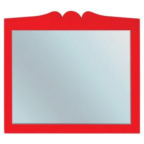 Зеркало Bellezza Эстель 80 красное