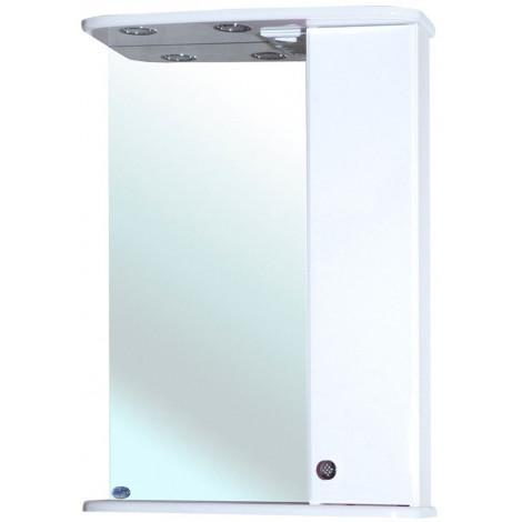 Зеркало-шкаф Bellezza Астра 60 белое купить в Москве по цене от 5937р. в интернет-магазине mebel-v-vannu.ru