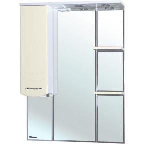 Зеркало-шкаф Bellezza Мари 85 белый/бежевый
