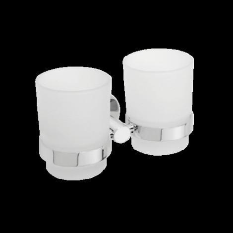 Двойной держатель для стаканов BEMETA OMEGA 104110022 купить в Москве по цене от 1806р. в интернет-магазине mebel-v-vannu.ru