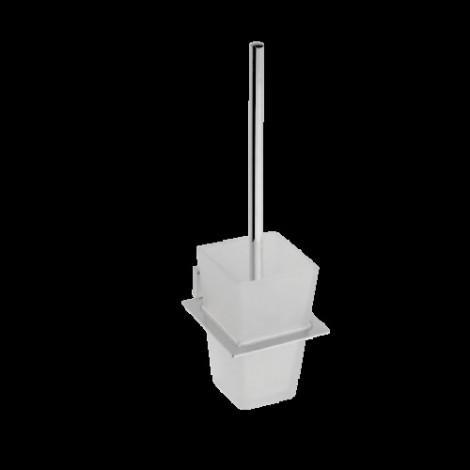 Туалетная щетка с настенным держателем BEMETA PLAZA 118113012 купить в Москве по цене от 3120р. в интернет-магазине mebel-v-vannu.ru