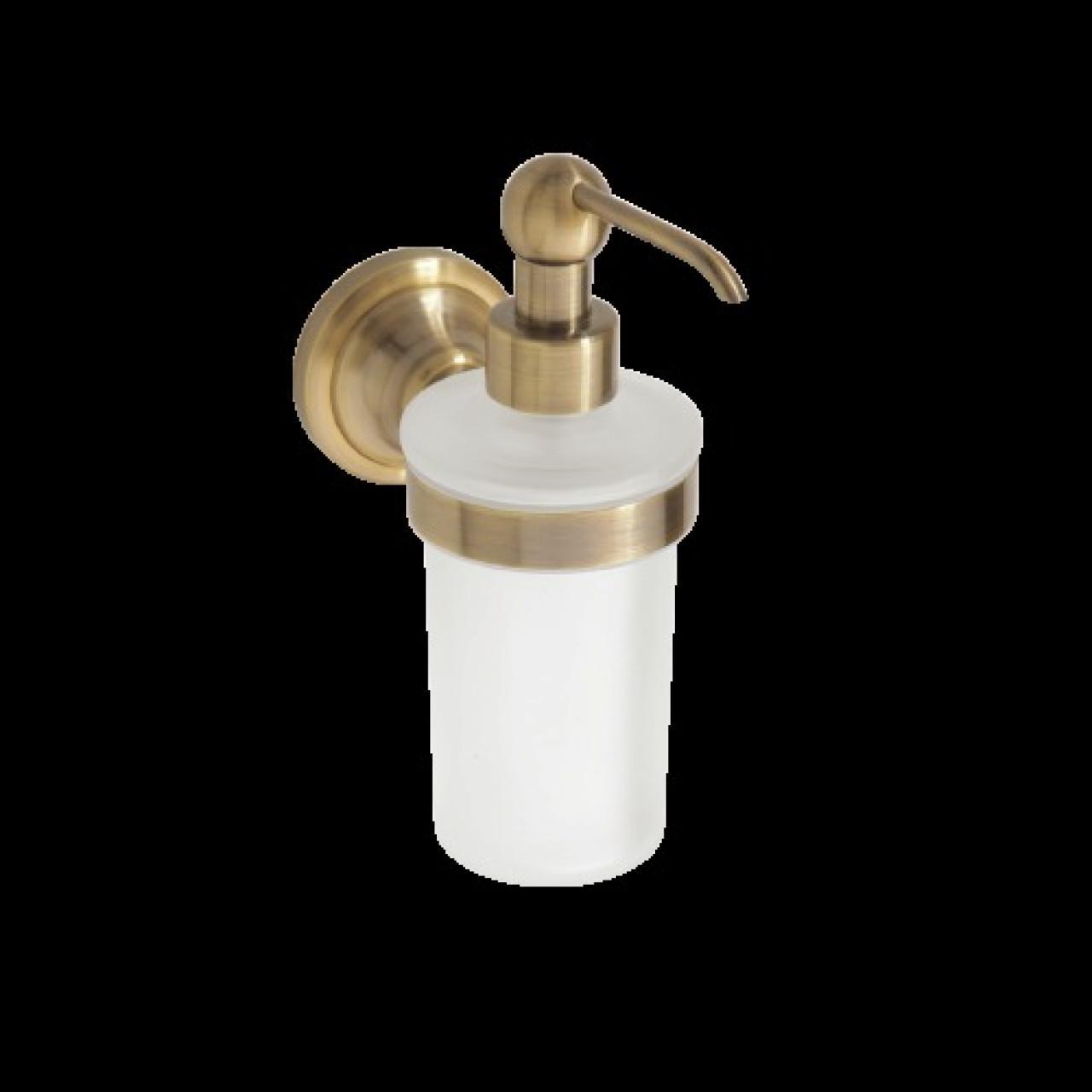 Настенный дозатор мыла BEMETA RETRO 144209018 Хром-золото купить в Москве по цене от 2930р. в интернет-магазине mebel-v-vannu.ru
