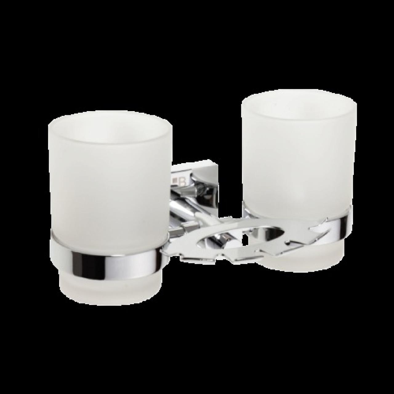 Держатель зубных щеток со стаканами BEMETA BETA 132110042 купить в Москве по цене от 2830р. в интернет-магазине mebel-v-vannu.ru