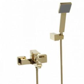 Смеситель Bennberg 130111 для ванны с душем золото