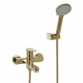 Смеситель Bennberg 130212 для ванны с душем золото