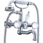 Смеситель Boheme Brillante Presente 353 для ванны с душем купить в Москве по цене от 42557р. в интернет-магазине mebel-v-vannu.ru