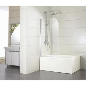 Шторка на ванну Bravat Alfa BG110.5111A 1100*1350