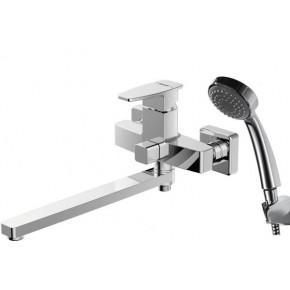 Смеситель Bravat Riffle F672106C-LB для ванны с душем