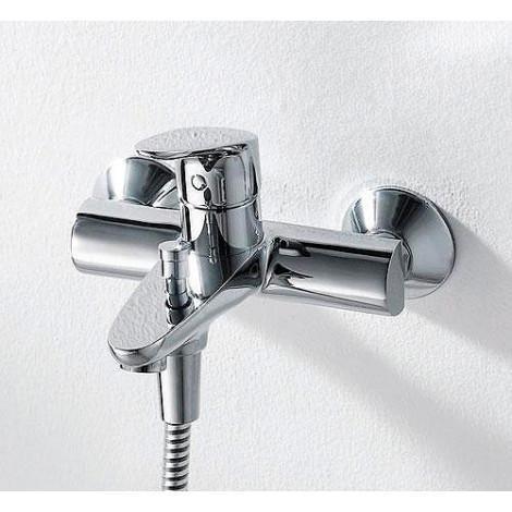 Смеситель Bravat Drop F64898C-B для ванны с душем купить в Москве по цене от 5314р. в интернет-магазине mebel-v-vannu.ru