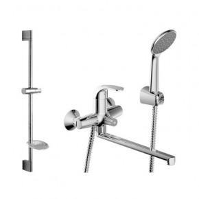 Комплект смесителей Bravat FIT F00416C для ванной 2в1