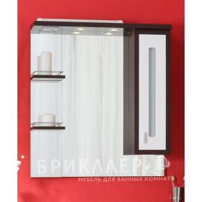 Зеркало-шкаф Бриклаер Бали 75