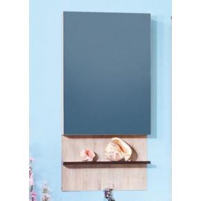 Зеркало-шкаф Бриклаер Карибы 50 Дуб кантри/Венге