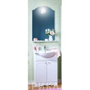 Комплект мебели Бриклаер Лючия 60 белый глянец