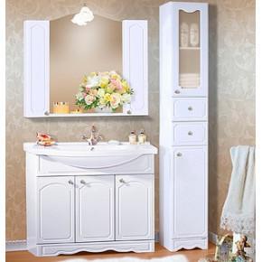 Комплект мебели Бриклаер Лючия 100 белый глянец