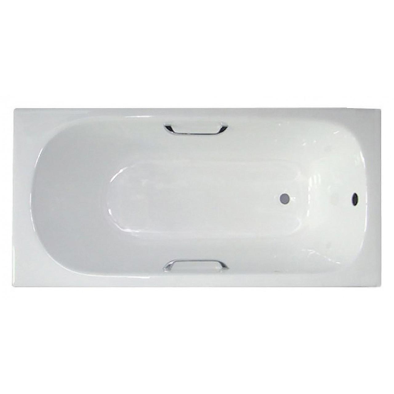 Чугунная ванна Castalia 1700х700х420 с ручками купить в Москве по цене от 26300р. в интернет-магазине mebel-v-vannu.ru