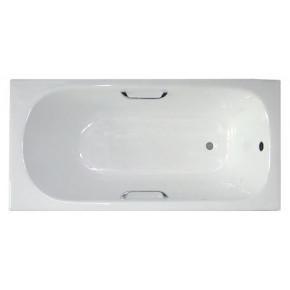 Чугунная ванна Castalia 1700х700х420 с ручками