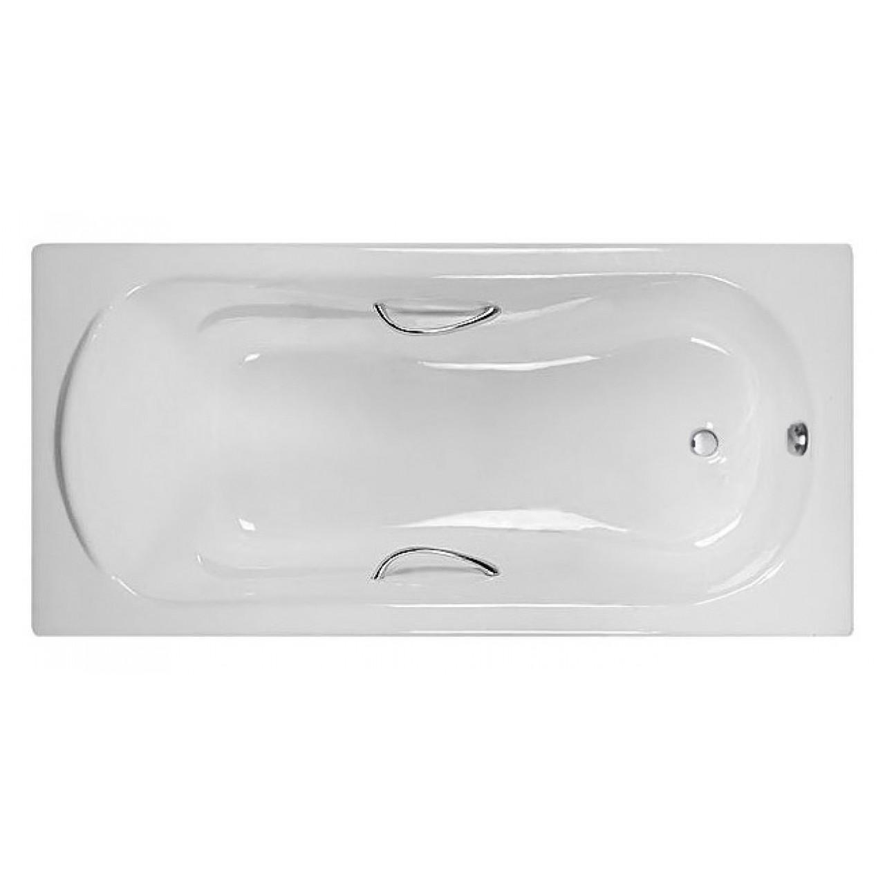 Чугунная ванна Castalia Venera 1700х800х42 с ручками купить в Москве по цене от 32850р. в интернет-магазине mebel-v-vannu.ru